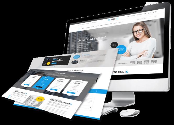 Install set up WordPress on web hosting